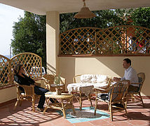 Bed-breakfast-cilento-Terrasse