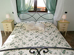 Bed-breakfast-cilento-zimmergrün